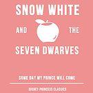 Disney Princesses: Snow White Minimalist by ofalexandra