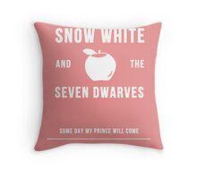 Disney Princesses: Snow White Minimalist Throw Pillow