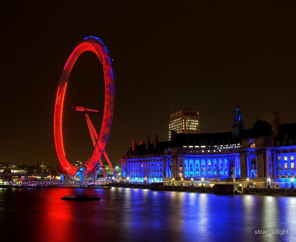 The Eye, London, UK by strangelight