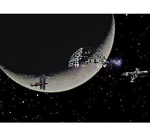 Deathstar Photographic Print