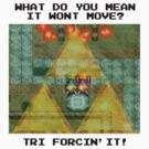 Zelda Tri Forcin' It  by McLovely