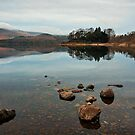 Derwentwater Reflections by John Hare