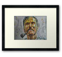 Daniel Day Lewis - Portrait 1 Framed Print