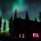The Northern Lights Cabin by peaceofthenorth