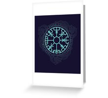 VEGVISIR Greeting Card