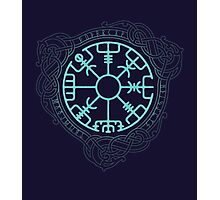 VEGVISIR Photographic Print