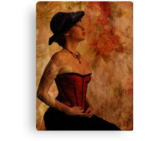 The Greatest Beauty Tip Canvas Print
