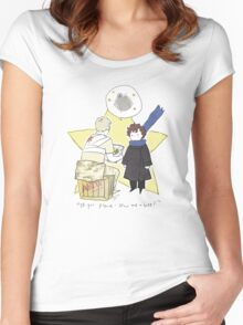 The Little Consulting Detective Women's Fitted Scoop T-Shirt