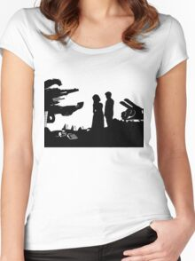 A Mad Man with a Box Women's Fitted Scoop T-Shirt