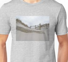 Sand Dune and Split Rail Fence Unisex T-Shirt