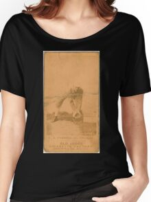 Benjamin K Edwards Collection C A Farrell Chicago White Stockings baseball card portrait Women's Relaxed Fit T-Shirt