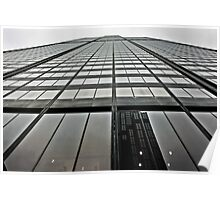Willis Tower reaching for the sky Poster