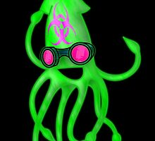 Nuclear Rave Squid by GrimDork