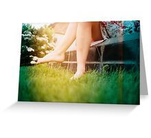Lomo - Chit chat Greeting Card