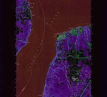 USGS Topo Map Washington State WA Mukilteo 242767 1953 24000 Inverted by wetdryvac