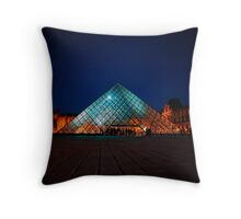 Paris 318 Throw Pillow
