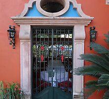 Frontdoor Like Artwork - Puerta Como Arte by Bernhard Matejka