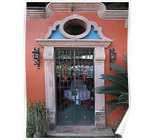 Frontdoor Like Artwork - Puerta Como Arte Poster
