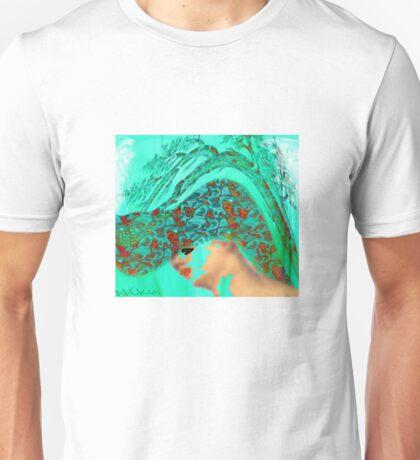 face-Bird woman Unisex T-Shirt