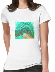 face-Bird woman Womens Fitted T-Shirt