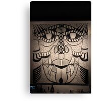 Faces Ink Canvas Print