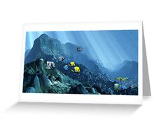 Search for Lost Atlantis Greeting Card