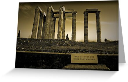 Columns of the Olympian Zeus by Clockworkmary