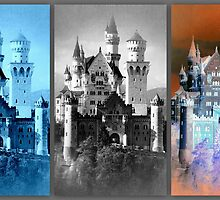 Neuschwanstein ~ Bavarian Fairytale Castle by ©The Creative  Minds