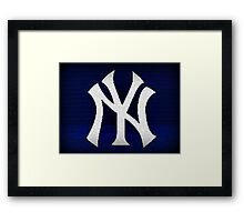 New York Yankees Framed Print