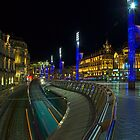 Place de la Comedie by Night in Montpellier, France by 7horses
