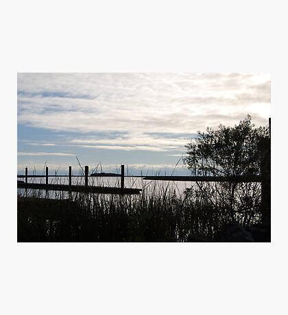 Dusk on the Marsh Photographic Print