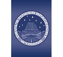 Devil's Tower Spaceport Photographic Print