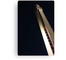 Tipping tower Canvas Print