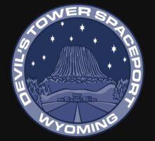 Devil's Tower Spaceport Kids Tee