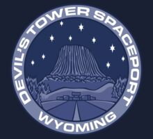 Devil's Tower Spaceport Kids Tee