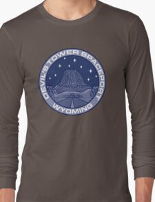 Devil's Tower Spaceport Long Sleeve T-Shirt