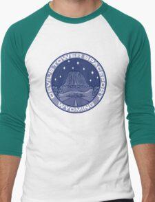 Devil's Tower Spaceport Men's Baseball ¾ T-Shirt