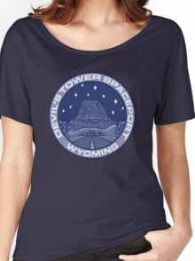 Devil's Tower Spaceport Women's Relaxed Fit T-Shirt