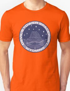 Devil's Tower Spaceport Unisex T-Shirt