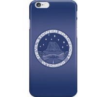 Devil's Tower Spaceport iPhone Case/Skin