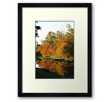 December Morn on Deerfield Creek Framed Print
