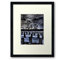 What Lies Beneath Framed Print