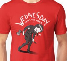 Wednesday Hates The World Unisex T-Shirt