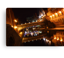 The Glass Canal Canvas Print