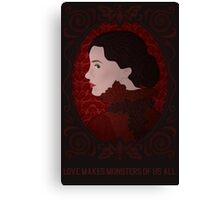 Crimson Peak - Love Makes Monsters of Us All Canvas Print