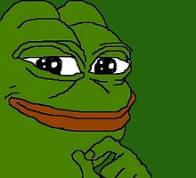 Smug Pepe by BombsAway