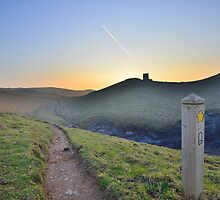Cornwall: Evening on the Coast Path by Rob Parsons