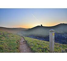 Cornwall: Evening on the Coast Path Photographic Print