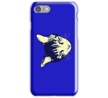 Weird Cat Head iPhone 2 iPhone Case/Skin