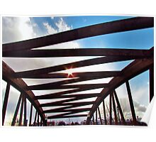 Bridge in Caldwell, Idaho, USA Poster